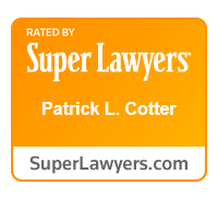 Super Lawyers 2015 Patrick Cotter
