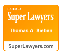 Super Lawyers 2015 Tom Sieben