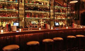 bar and barstool
