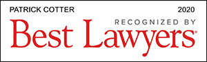 Best Lawyers recognizes Patrick Cotter