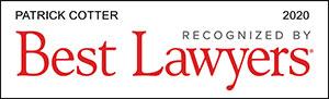 Best Lawyers recognizes Patrick Cotter
